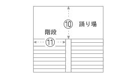 10.11.エレベーターで搬入が出来ない場合 階段での搬入
