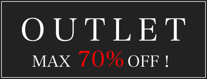 OUTLET MAX70%OFF!